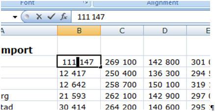 skriv alle tallene fra 1 til 10